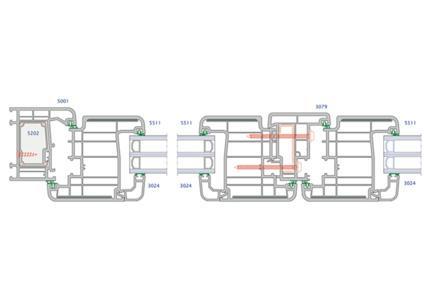 Ventanas de PVC deslizante