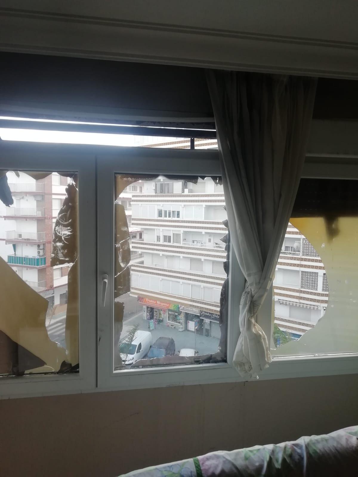 Ventanas de PVC muy seguras contra el fuego