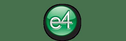 e4 logo wider