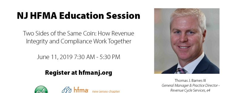NJ HFMA Two Sides of the Same Coin