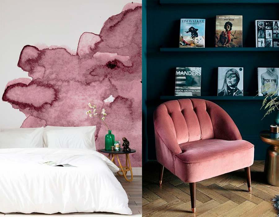 ألوان الكشمير المختلفة في الديكورات والحوائط والغرف احكي