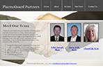 Internet marketing client, Pharmaboard Partners, LLC - Website Re-design Project