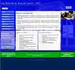 Internet marketing client, McKeon and Associates, LLC - New Business Website