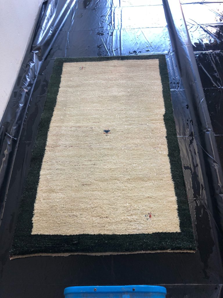 Oriental Rug cleaned by EA Restoration