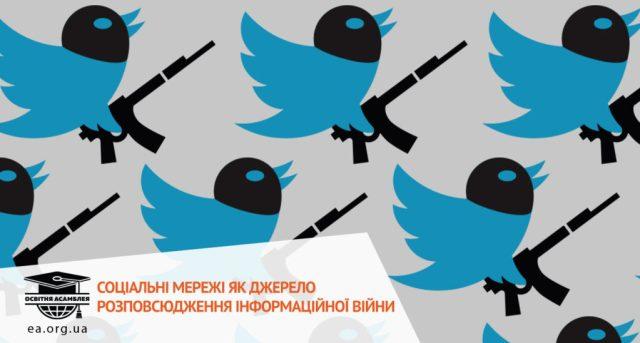 Соціальні мережі та інформаційна війна