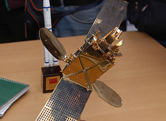 Prototipo del Satélite boliviano Túpac Katari