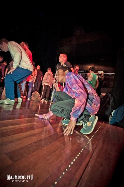 Floor checkin' - IBE 2013