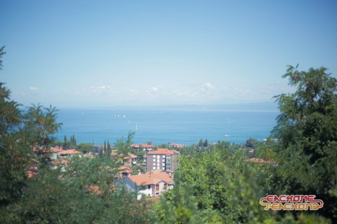First view of the Istria Coast.