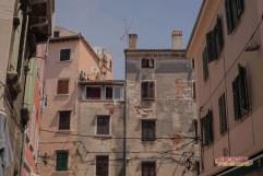 Buildings in Rovinj.