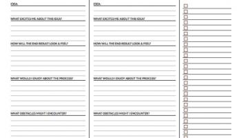 Preptober Schedule | creative writing blog