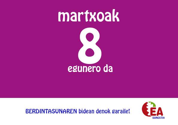 martxoak8 EA DONOSTIA