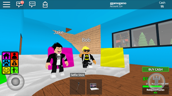 Roblox players      all platforms are able to play together Roblox allows players to create their own games and distribute them to  other players  With such a mechanism of action  this game has helped turn  some people