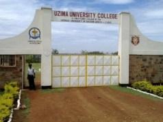 Uzima University College, UUC Student Portal: uzimauniversity.ac.ke