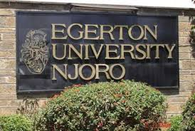 Egerton University, EU Admissions Requirement For All Courses