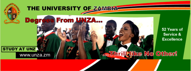 University of Zambia, UNZA Cut-Off Points: 2019/2020