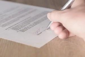 How to create a Unique signature