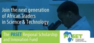 PASET Regional Scholarship and Innovation Fund (RSIF) - 2020/2021