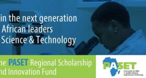 PASET Regional Scholarship and Innovation Fund (RSIF) - 2020/2021