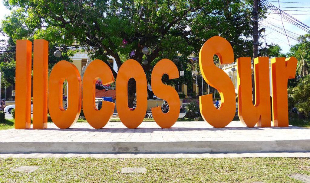 Ilocos Sur sign, Vigan Itinerary