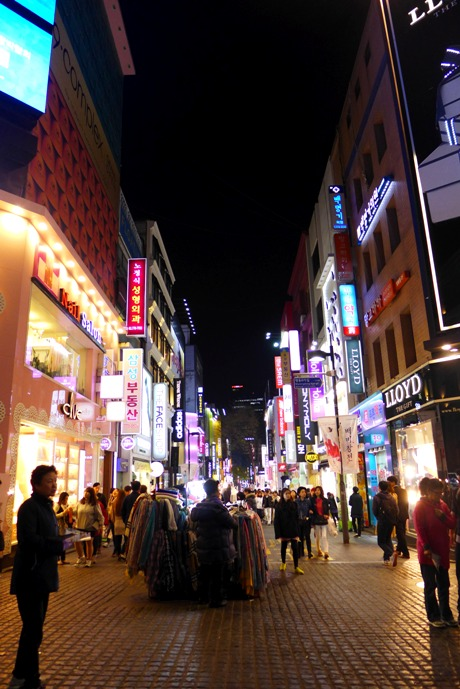 Myeongdong, Seoul, South Korea