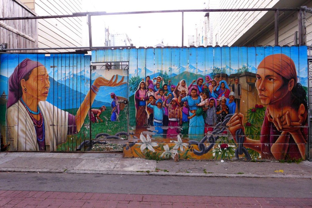 Murals at Mission District