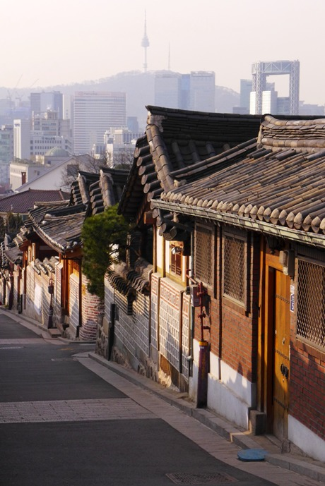 Bukchon Hanok Village, Seoul, South Korea