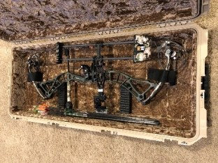 BowTech Bow and SKB case