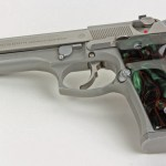 Beretta 92 M9 Series Kirinite Jungle Camo Grips