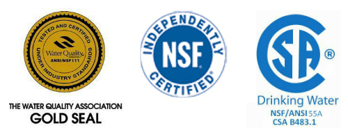 Eagle products are gold seal certified and NSF and CSA approved