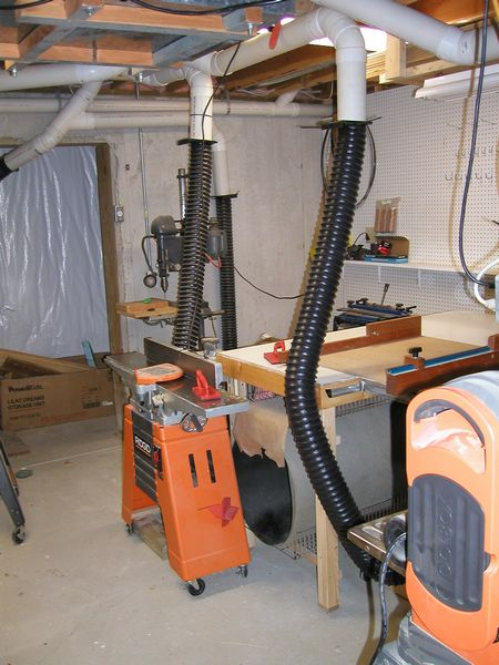 Home Shop Dust Collection Systems