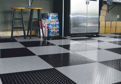 diamond tread garage tiles eagle mat