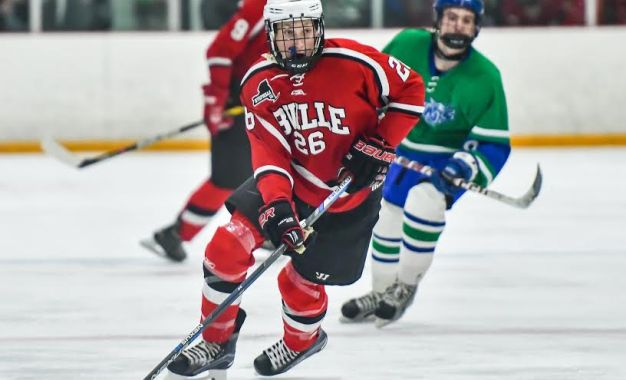 B'ville hockey returns to winning form