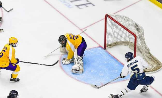 Lakers roll to back-to-back sectional hockey titles