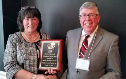 Barbara Bartlett named 2017 Champion of Tourism for Madison County