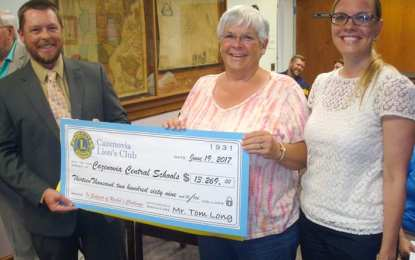 Lions Club donates over $13K for Rachel's Challenge