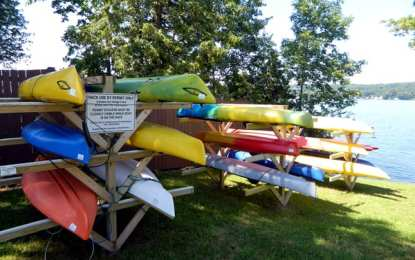 Kayaks stolen in village not a 'rash' of thefts, police chief says