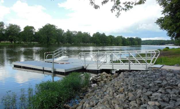 Mercer Park kayak launch now open