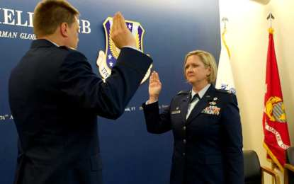 Hutson promoted to colonel in New York Air National Guard