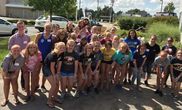Teens give back at Caz Cares