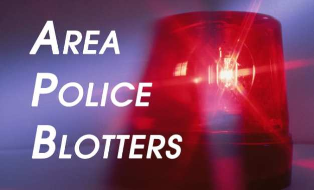 Area Police Blotters: Weeks of Aug. 23 to Sept. 5