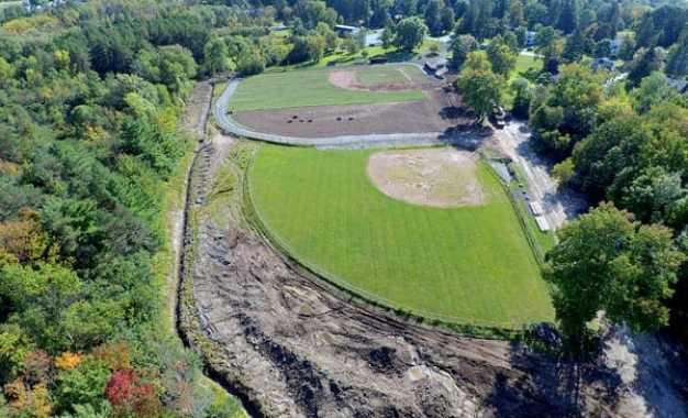GOING GREEN: American Legion baseball field revamp nearly complete