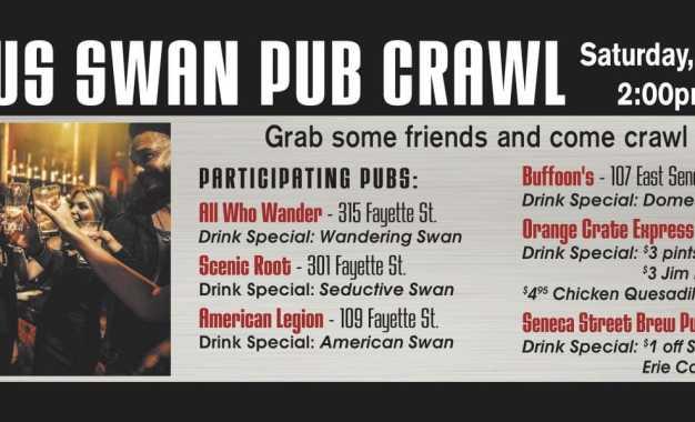Manlius Pub Crawl coming Sept. 23