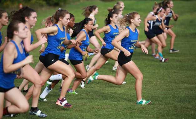 Cross country girls open with a win