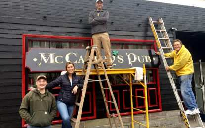 Irish pub opens on Albany Street