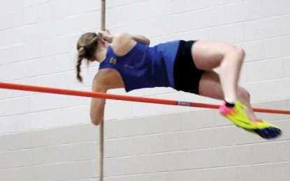 Indoor track girls open strong