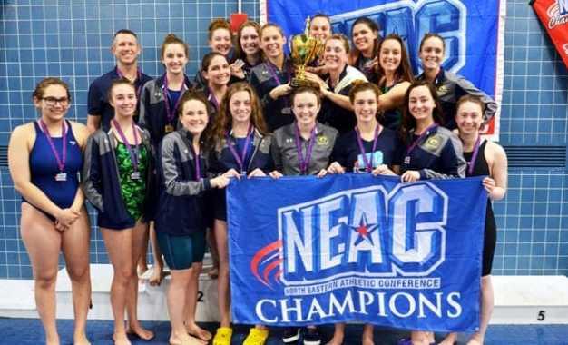 Cazenovia College dominates NEAC Women's Swimming and Diving Championship