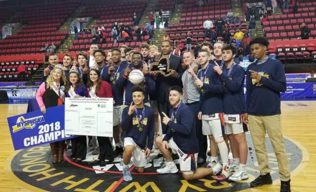 Liverpool boys basketball are state AA champs