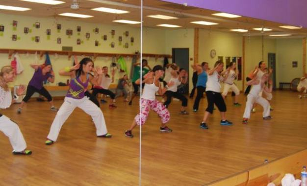 Zumba on the island takes place Aug. 8