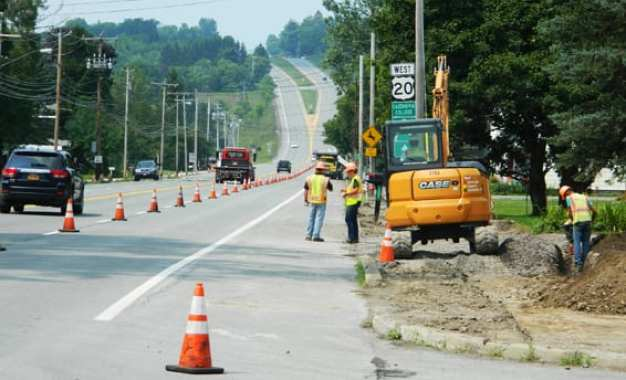 $1 million Route 20 project in Nelson to be completed by Halloween