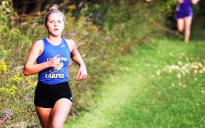 Laker XC girls post victories, peak performances